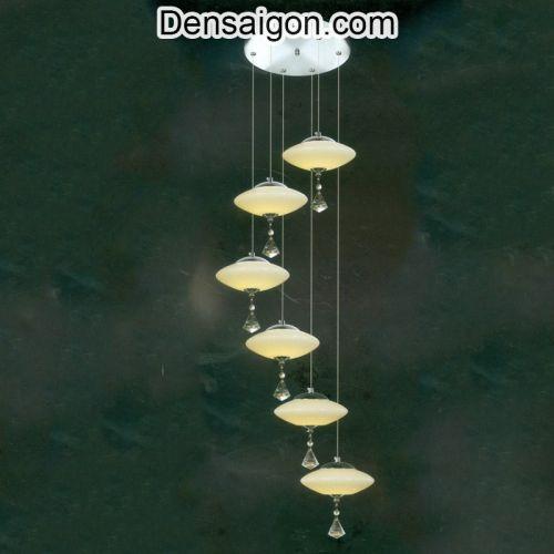 Đèn Thả Pha Lê Thông Tầng Đẹp Giá Rẻ - Densaigon.com
