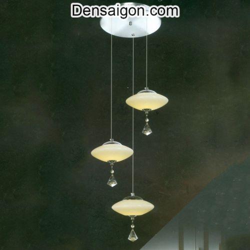 Đèn Thả Pha Lê Thông Tầng Giá Rẻ Trang Trí Đẹp - Densaigon.com