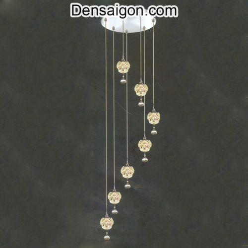 Đèn Thả Pha Lê Thông Tầng Sang Trọng Giá Rẻ - Densaigon.com