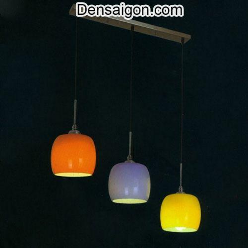 Đèn Thả Thủy Tinh Cao Cấp 3 Màu - Densaigon.com