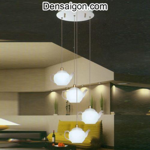 Đèn Thả Thủy Tinh Thiết Kế Cái Ấm - Densaigon.com