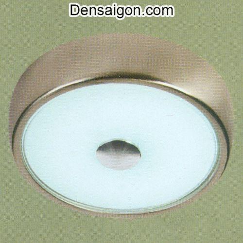 Đèn Trần LED Tròn Màu Bạc Sang Trọng - Densaigon.com