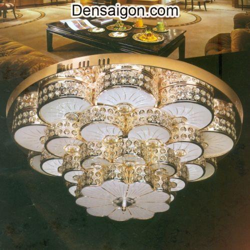 Đèn Trần Pha Lê Đẹp Sang Trọng - Densaigon.com