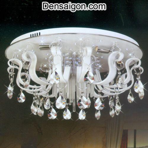 Đèn Chùm Pha Lê LED Màu Trắng Lung Linh - Densaigon.com