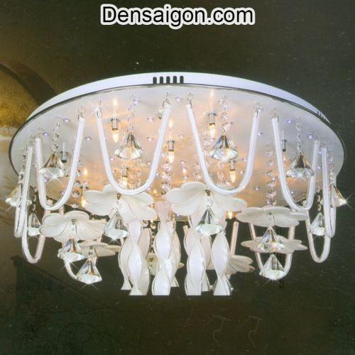 Đèn Chùm Pha Lê LED Phong Cách Sang Trọng - Densaigon.com