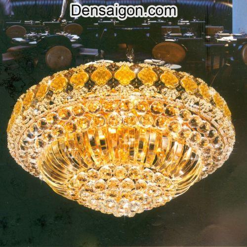 Đèn Trần Pha Lê LED Sang Trọng - Densaigon.com