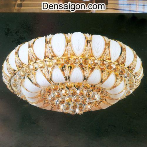 Đèn Trần Pha Lê LED Treo Phòng Khách Đẹp - Densaigon.com