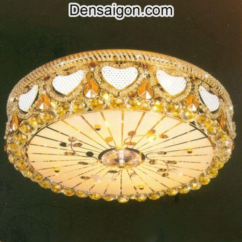 Đèn Trần Pha Lê LED Treo Phòng Khách Sang Trọng - Densaigon.com