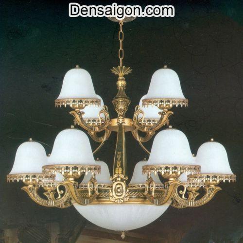 Đèn Chùm Dù Cổ Điển Giá Rẻ Cho Chung Cư - Densaigon.com