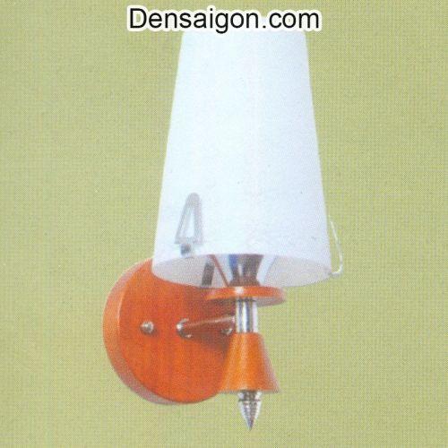 Đèn Tường Gỗ Dù Thiết Kế Lôi Cuốn - Densaigon.com