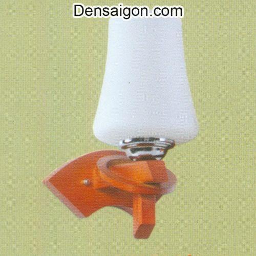 Đèn Tường Gỗ Màu Trắng Thiết Kế Đẹp - Densaigon.com