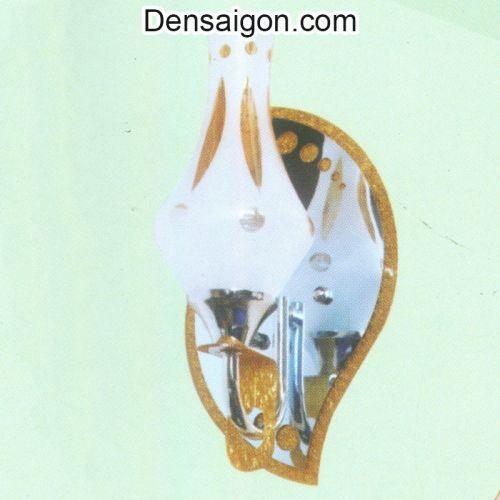 Đèn Tường Inox 2 Tay Thiết Kế Sang Trọng - Densaigon.com