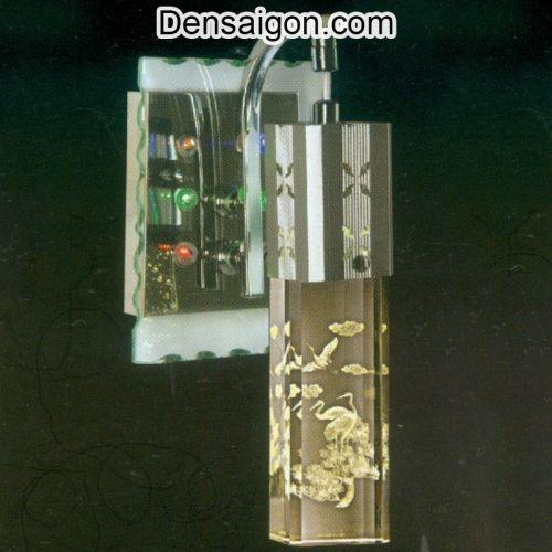 Đèn Tường Inox Họa Tiết Đàn Hạc - Densaigon.com