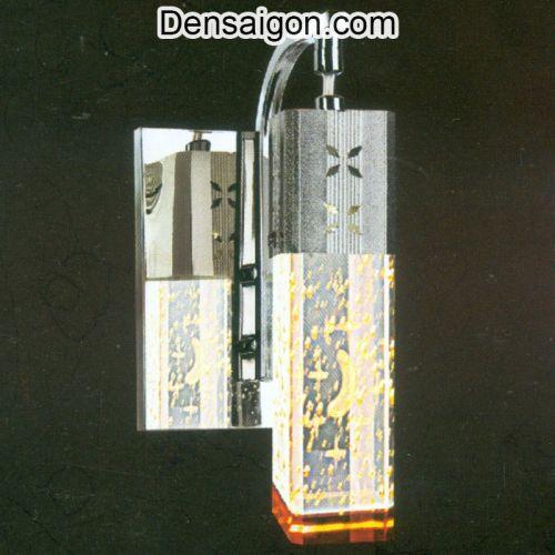 Đèn Tường Inox Họa Tiết Trẻ Trung - Densaigon.com