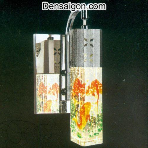 Đèn Tường Inox Hoa Văn Cá Chép - Densaigon.com