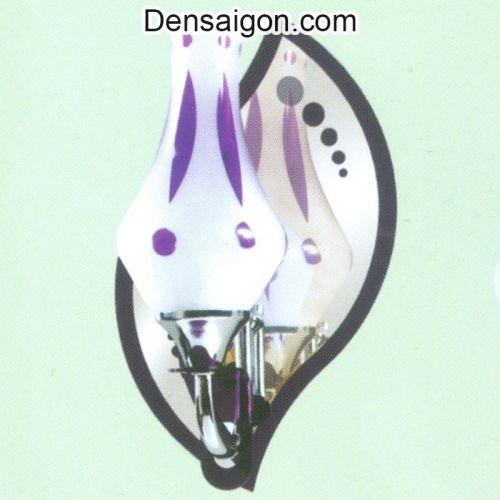 Đèn Tường Inox Sắc Tím Tinh Tế - Densaigon.com