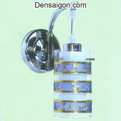 Đèn Tường Inox Sọc Xanh Trẻ Trung - Densaigon.com