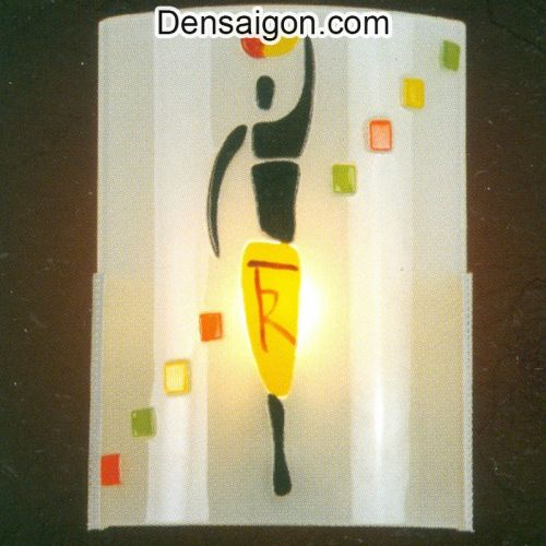 Đèn Tường Kiếng In Hình Vũ Công - Densaigon.com