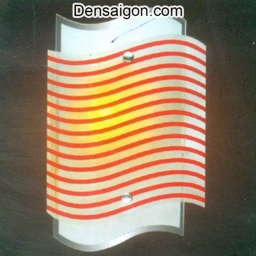 Đèn Tường Kiếng Sọc Đỏ Đẹp - Densaigon.com