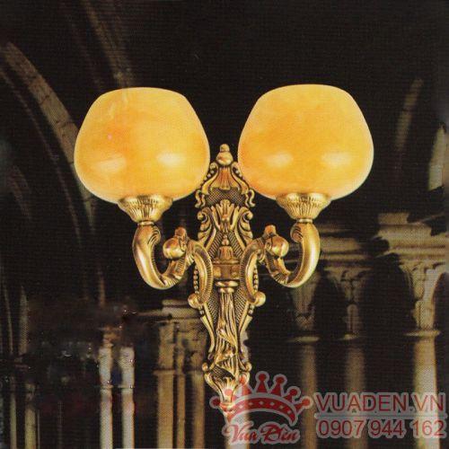 Đèn vách đồng trang trí hành lang loại 2 bóng - Densaigon.com
