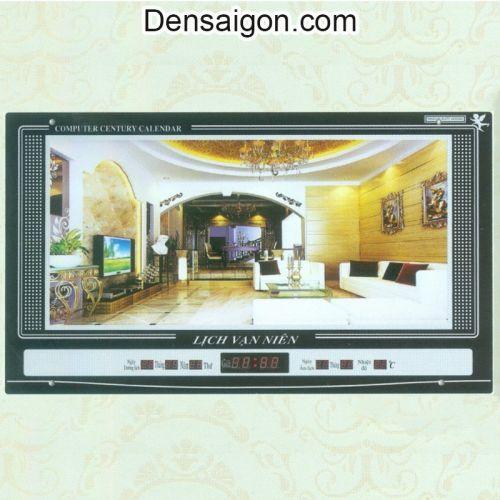 Tranh Đồng Hồ Treo Phòng Khách Đẹp - Densaigon.com