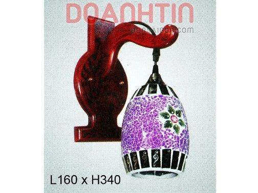 Đèn Tưởng Gỗ Trang Trí Nhà Hàng - Densaigon.com