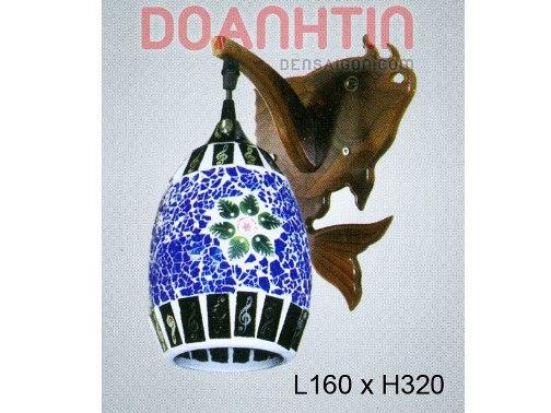 Đèn Tưởng Gỗ Trang Trí Căn Hộ - Densaigon.com