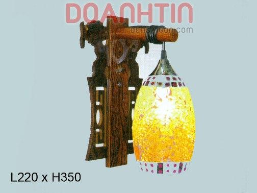 Đèn Tưởng Gỗ Thiết Kế Phong Cách - Densaigon.com