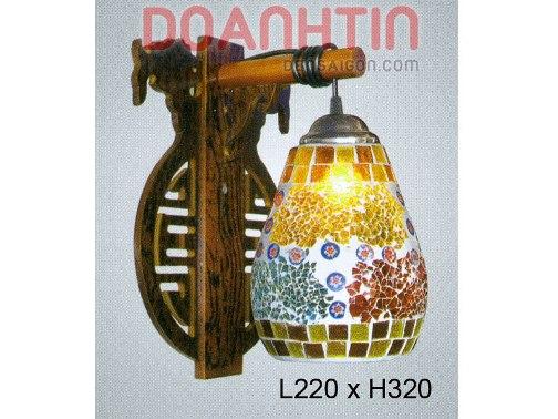 Đèn Tưởng Gỗ Thiết Kế Bắt Mắt - Densaigon.com