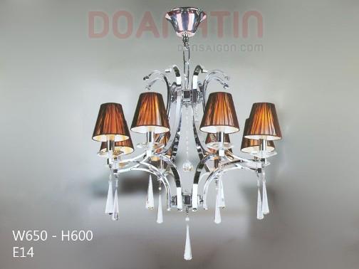 Đèn Chùm Dù Trang Trí Nội Thất Phong Cách Cổ Điển - Densaigon.com