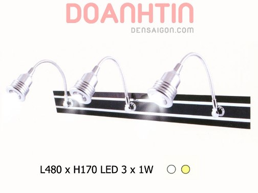 Đèn Soi Gương LED Kiểu Dáng Trang Nhã - Densaigon.com