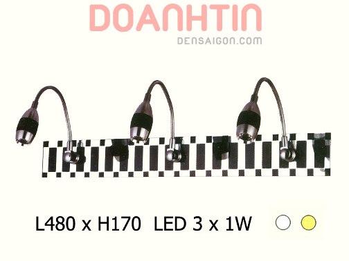 Đèn Soi Gương LED Thiết Kế Đồng Màu - Densaigon.com