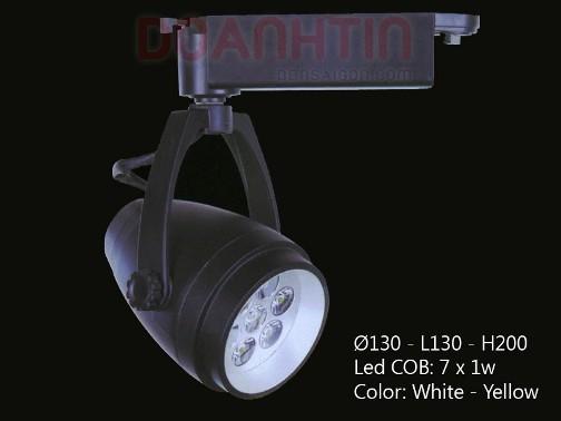 Đèn Rọi Cao Cấp Màu Đen - Densaigon.com