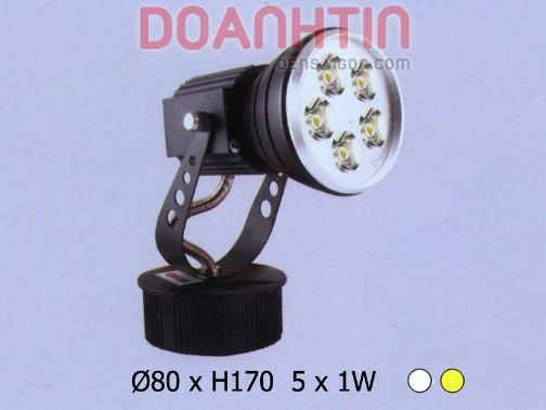 Đèn Spotlight LED Kiểu Dáng Mạnh Mẽ - Densaigon.com