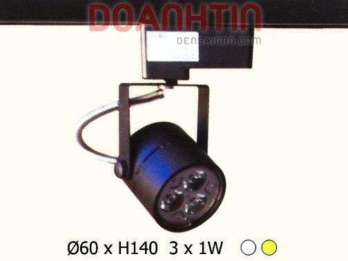 LED 3W Track Kiểu Dáng Cuốn Hút - Densaigon.com