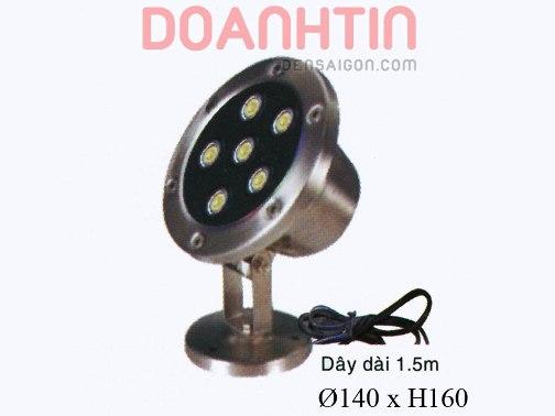 Đèn Pha Dưới Nước Màu Vàng Kiểu Dáng Bắt Mắt - Densaigon.com