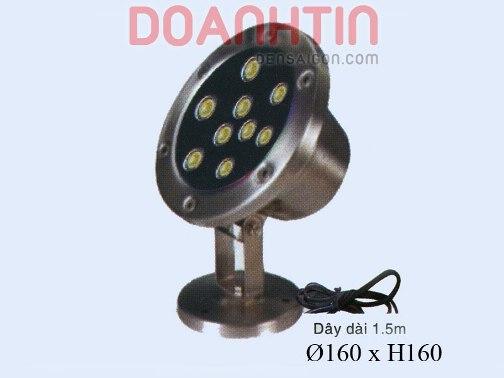 Đèn Pha Dưới Nước Màu Vàng Thiết Kế Hiện Đại - Densaigon.com