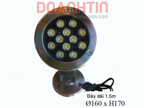 Đèn Pha Dưới Nước Màu Vàng - Densaigon.com