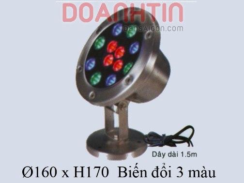 Đèn Dưới Nước 3 Màu - Densaigon.com