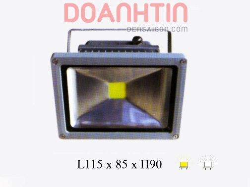 Đèn Pha LED Trắng Vàng Kiểu Dáng Hiện Đại - Densaigon.com
