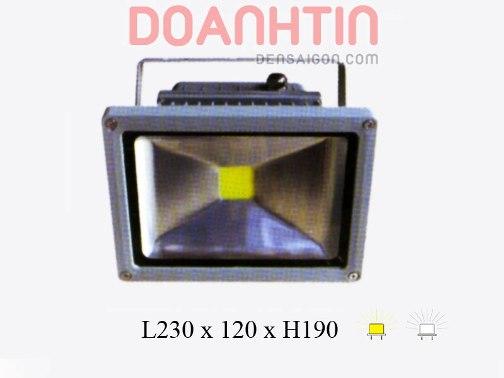 Pha LED Trắng - Vàng Kiểu Dáng Mạnh Mẽ - Densaigon.com