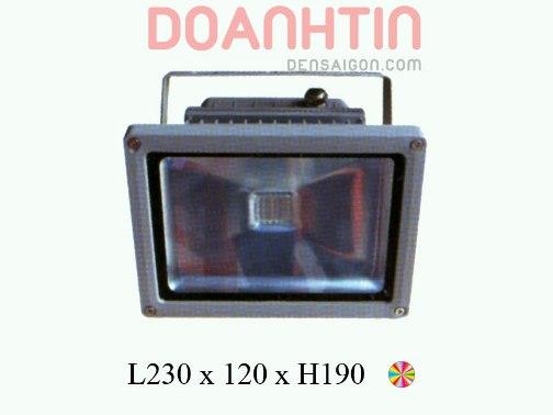 Pha LED 7 Màu Phong Cách Ấn Tượng - Densaigon.com