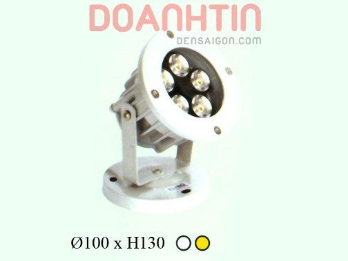 Đèn Pha cỏ LED Trắng - Vàng - Densaigon.com