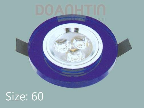 Đèn Mắt Ếch Pha Lê Cao Cấp Thiết Kế Nhẹ Nhàng - Densaigon.com