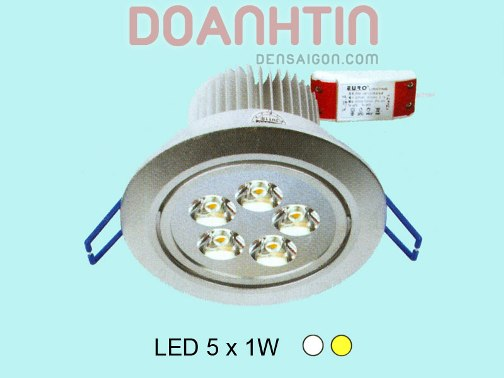 Đèn Mắt Ếch LED Thiết Kế Nhỏ Gọn mặt sơn trắng - Densaigon.com
