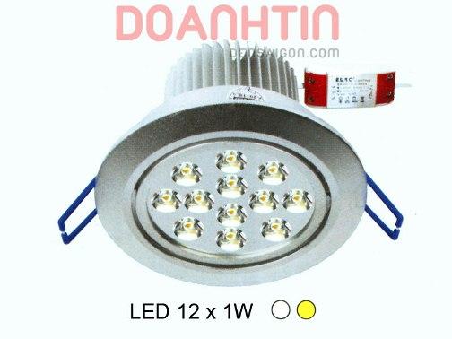 Đèn Mắt Ếch LED Thiết Kế Độc Đáo mặt sơn trắng - Densaigon.com