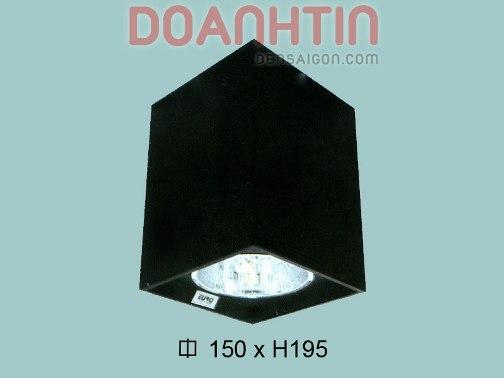 Đèn Lon Nổi Vuông Trang Trí Phòng Khách - Densaigon.com