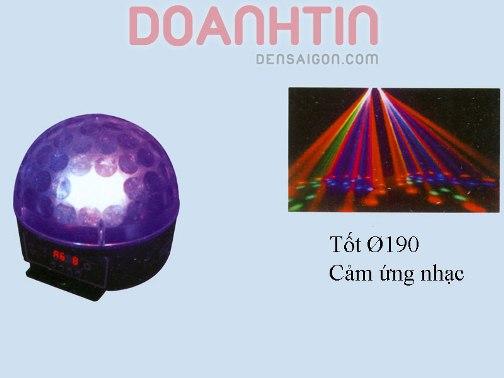 Đèn Nhím LED Màu Xanh - Densaigon.com