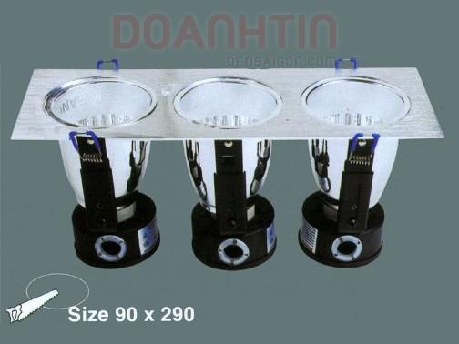 Đèn Lon Âm Ba Trang Trí Nhà Phố - Densaigon.com