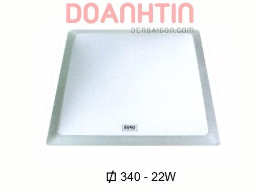 Đèn Áp Trần Hiện Đại Bóng LED Hình Vuông - Densaigon.com